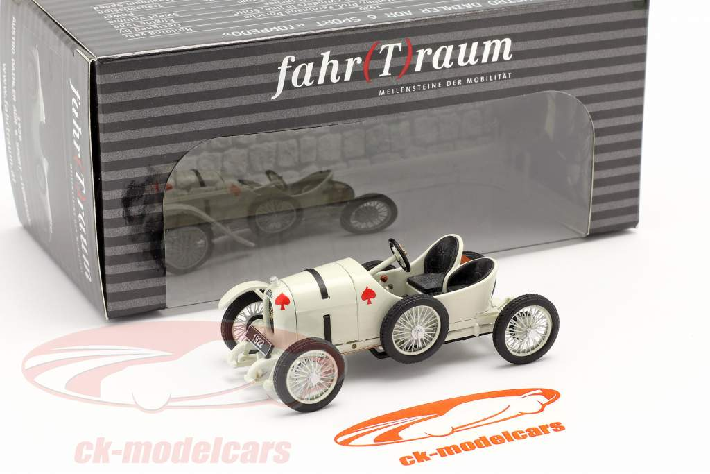 Austro Daimler Sascha ADS-R Anno di costruzione 1922 bianca 1:43 Fahr(T)raum