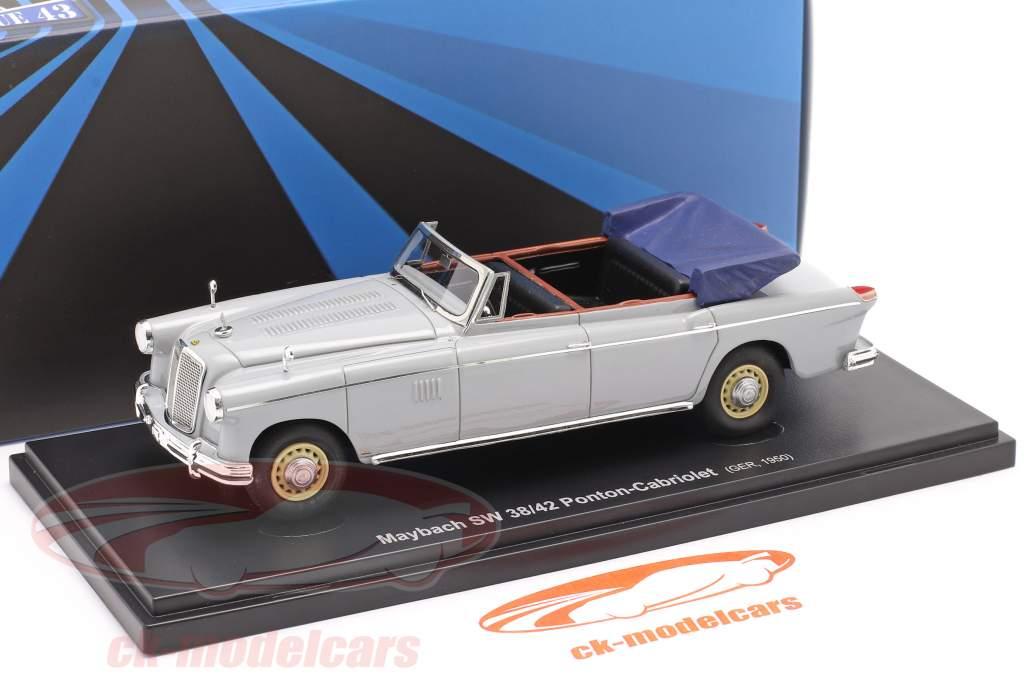 Maybach SW 38/42 Ponton-Cabriolet Byggeår 1950 garu 1:43 AutoCult