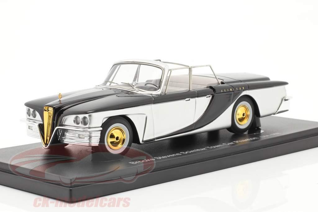 Brooks Stevens Scimitar Town Car Phaeton 1959 sølv / sort 1:43 AutoCult