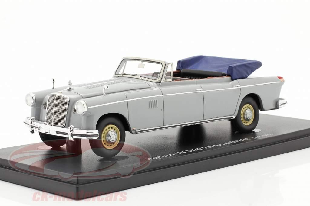 Maybach SW 38/42 Ponton-Cabriolet Bouwjaar 1950 garu 1:43 AutoCult