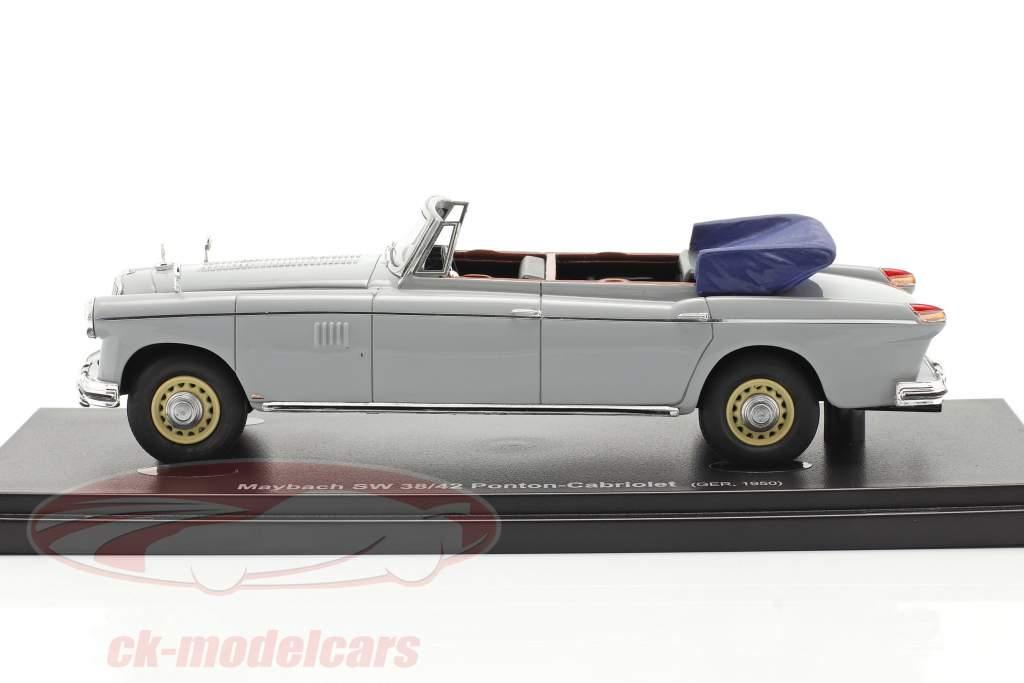 Maybach SW 38/42 Ponton-Cabriolet Año de construcción 1950 garu 1:43 AutoCult