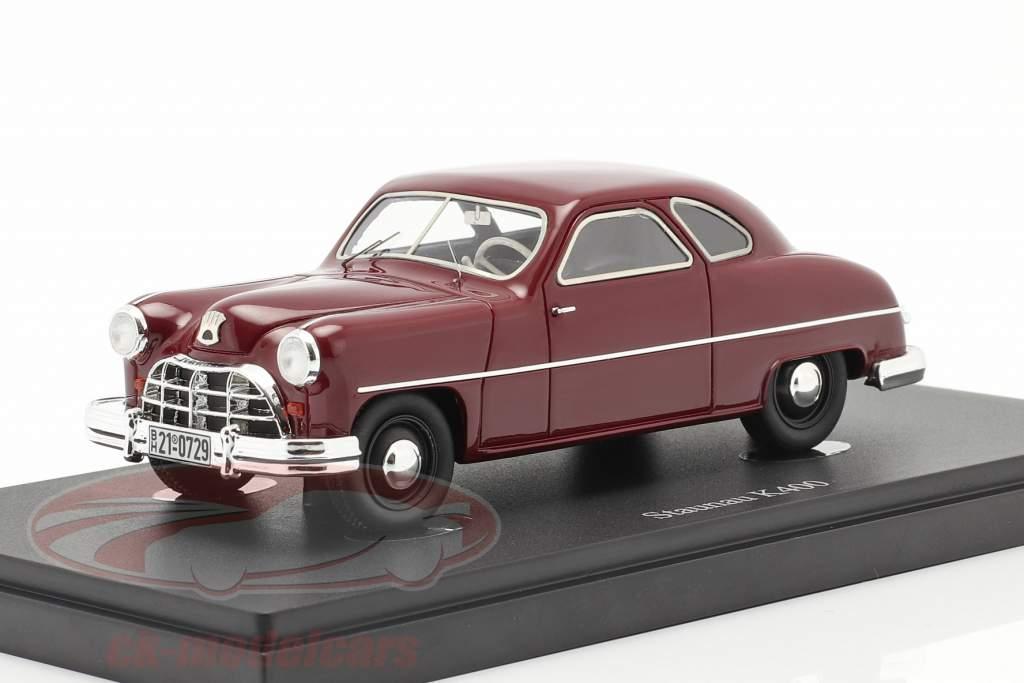 Staunau K400 Bouwjaar 1950 donker rood 1:43 AutoCult