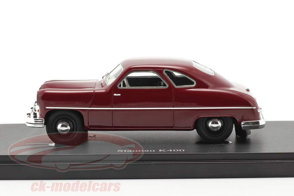Staunau K400 Año de construcción 1950 oscuro rojo 1:43 AutoCult