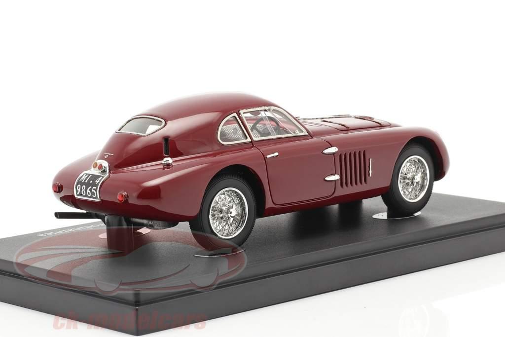 Alfa Romeo 6C 2500 SS Berlinetta Aerodinamica 1939 foncé rouge 1:43 AutoCult