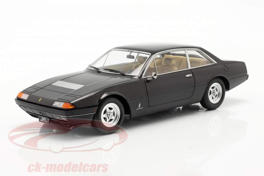 Ferrari 365 GT4 2+2 Anno di costruzione 1972 nero 1:18 KK-Scale