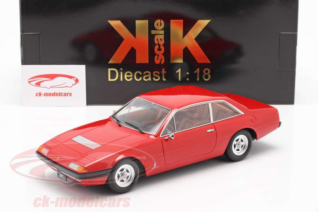 Ferrari 365 GT4 2+2 year 1972 red 1:18 KK-Scale