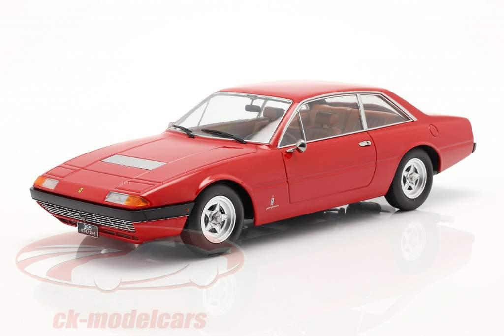 Ferrari 365 GT4 2+2 Ano de construção 1972 vermelho 1:18 KK-Scale