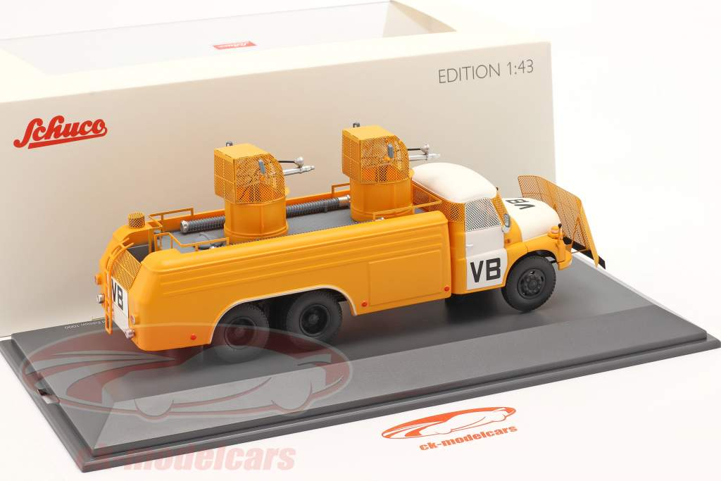 Tatra T148 water cannon yellow / white 1:43 Schuco