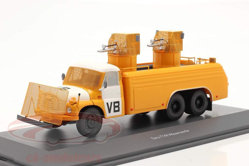 Tatra T148 canhao de água amarelo / Branco 1:43 Schuco