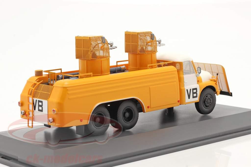 Tatra T148 cañón de agua amarillo / Blanco 1:43 Schuco