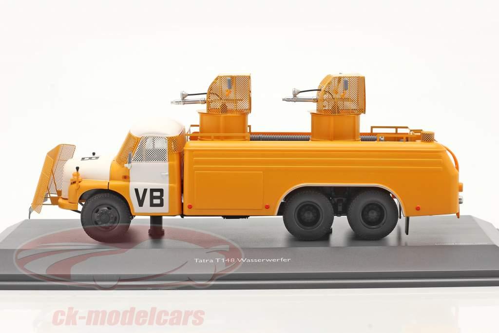 Tatra T148 waterkanon geel / Wit 1:43 Schuco
