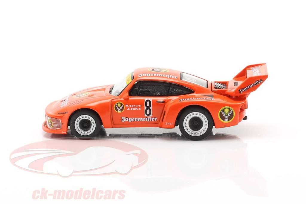 Porsche 935 Jägermeister #8 2ª 1000km Nürburgring 1978 Schurti, Ickx 1:87 Schuco