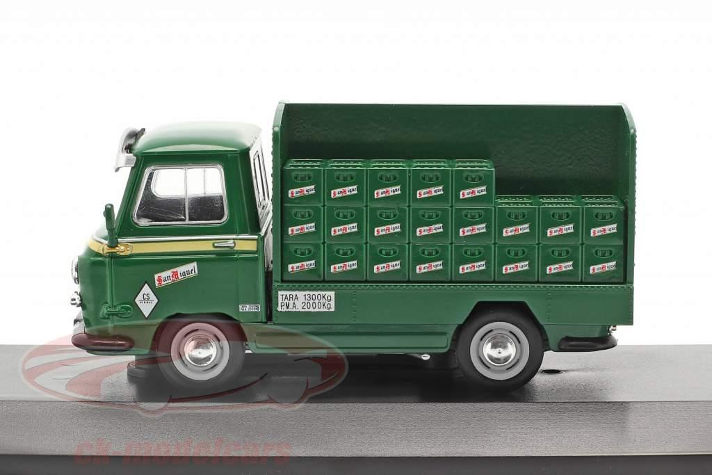 Sava J4 un camion San Miguel Année de construction 1974 vert 1:43 Altaya