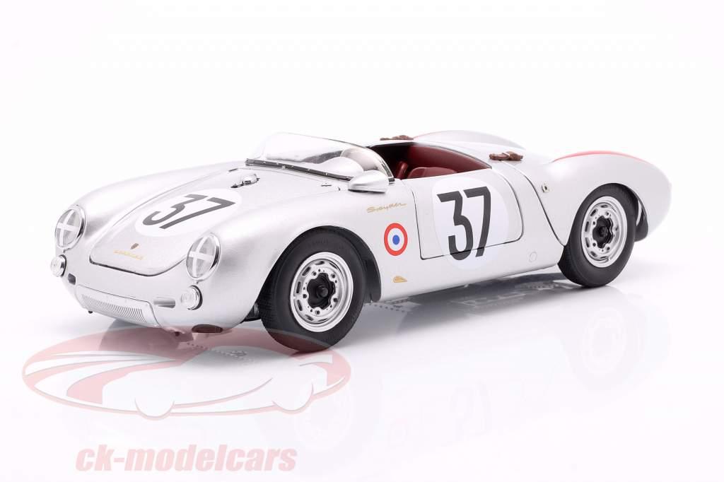 Porsche 550 A Spyder #37 ganador Clase S1.5 24h LeMans 1955 1:18 Schuco