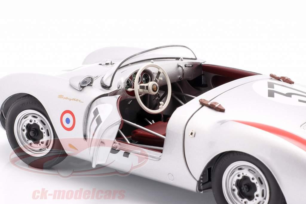 Porsche 550 A Spyder #37 winnaar S1.5 klasse 24h LeMans 1955 1:18 Schuco