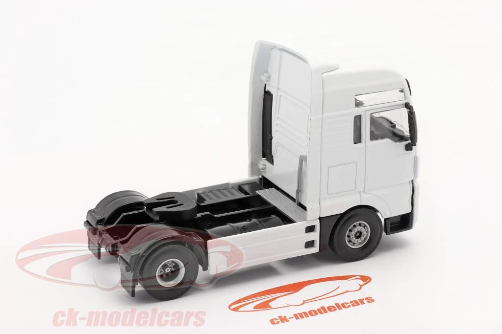 MAN TGX V8 Vrachtwagen Wit 1:50 Tekno Joal