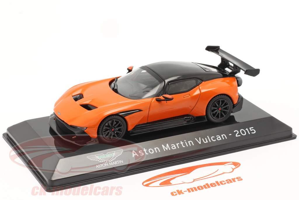 Aston Martin Vulcan year 2015 orange / black 1:43 Altaya
