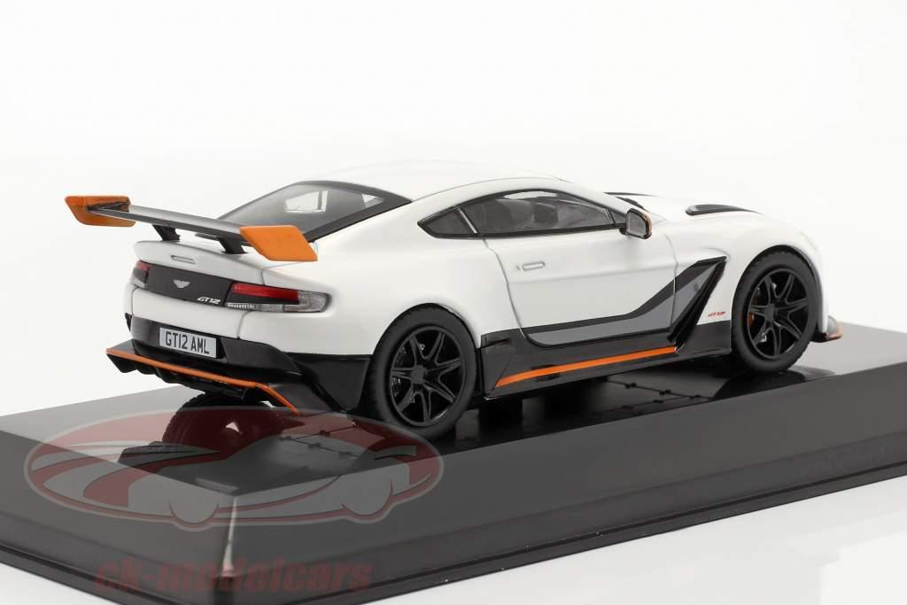 Aston Martin Vantage GT12 Baujahr 2015 weiß 1:43 Altaya
