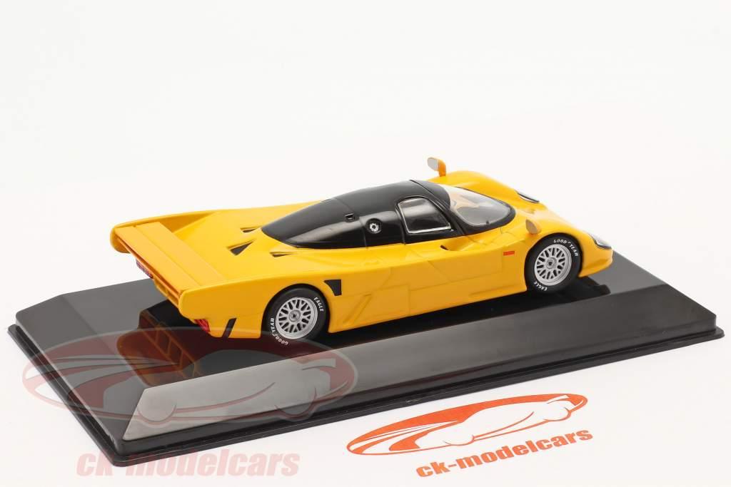 Dauer Porsche 962 Anno di costruzione 1993 giallo-arancio 1:43 Altaya