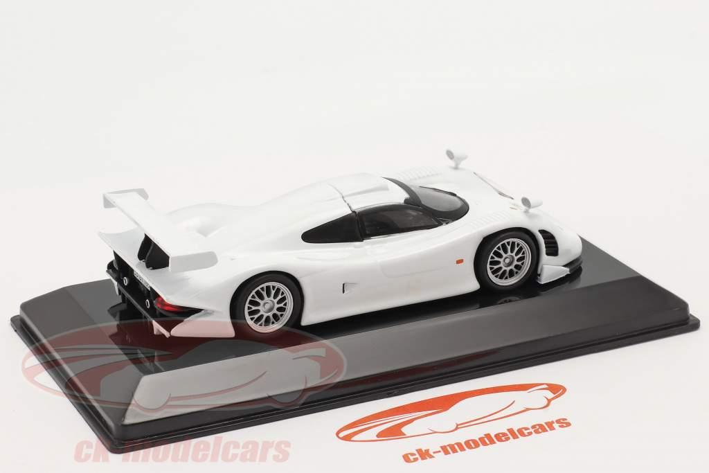 Porsche 911 GT1 rue version 1998 blanc 1:43 Altaya