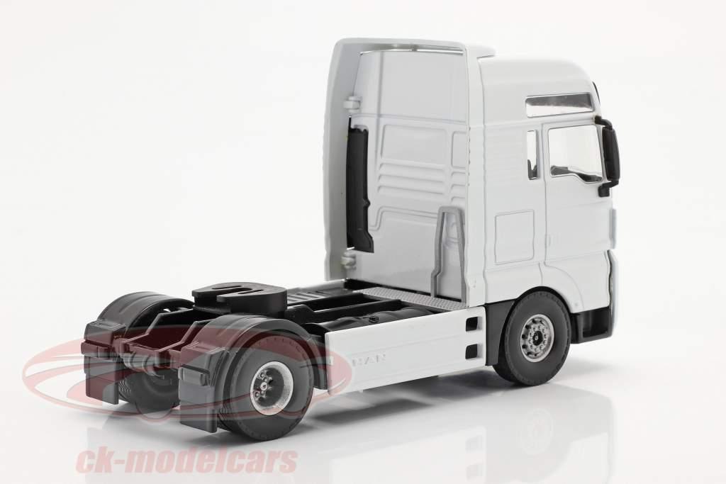 MAN TGX V8 camion blanc 1:50 Tekno Joal