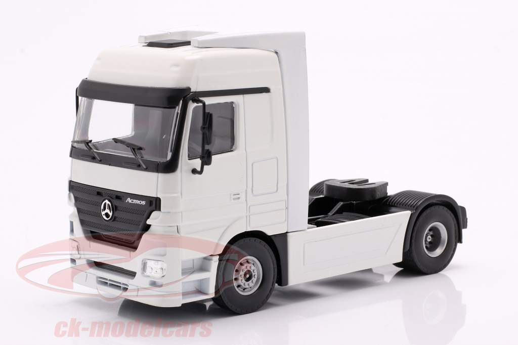 Mercedes-Benz Actros Lastbil hvid 1:50 Tekno Joal
