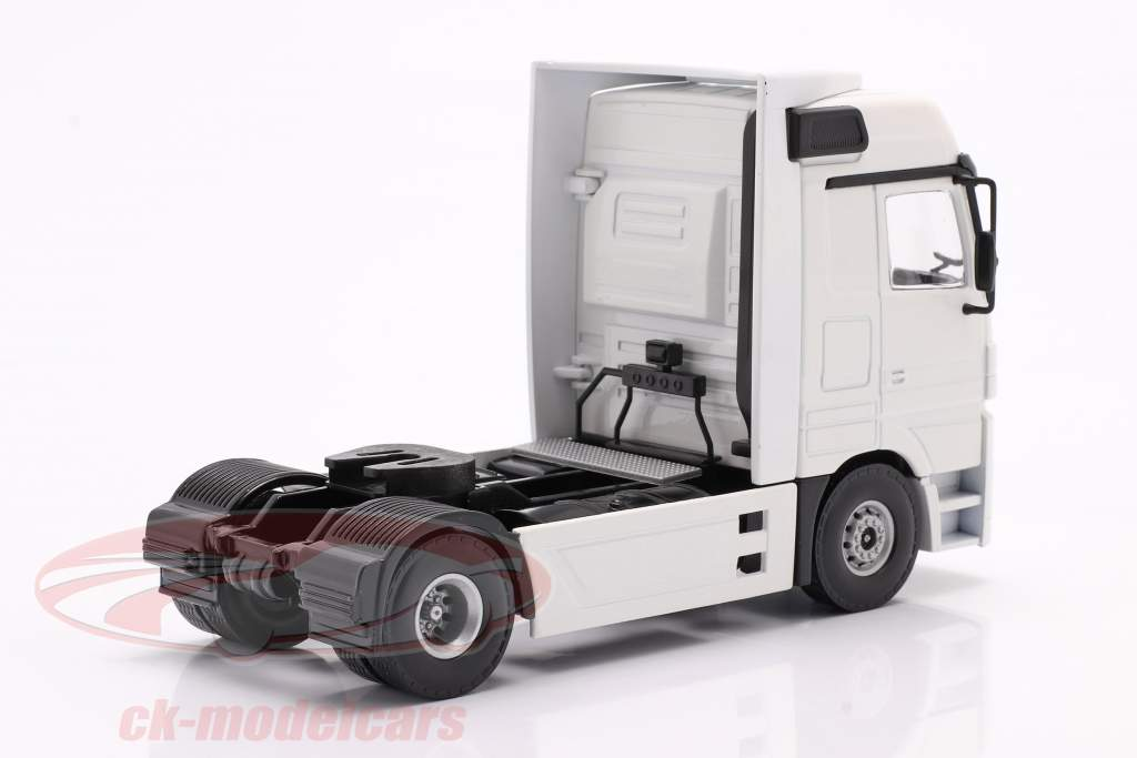 Mercedes-Benz Actros Sattelzugmaschine weiß 1:50 Tekno Joal