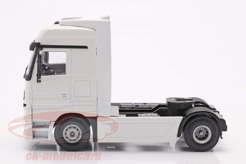 Mercedes-Benz Actros camion blanc 1:50 Tekno Joal