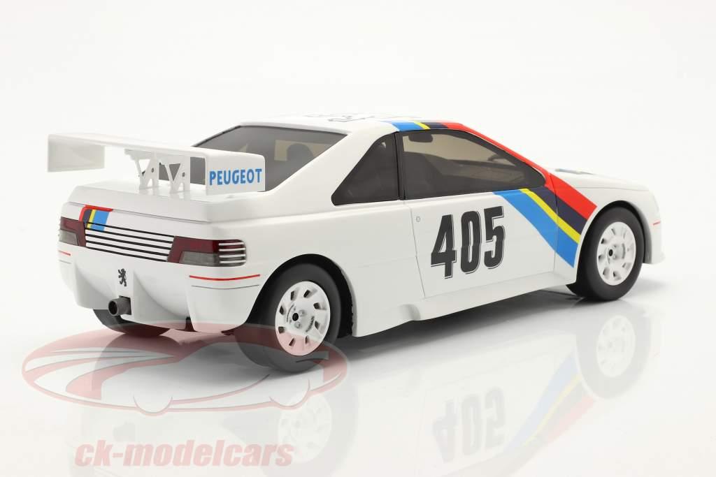 Peugeot 405 T16 Gr. S #405 Presentation Car 1988 hvid 1:18 OttOmobile