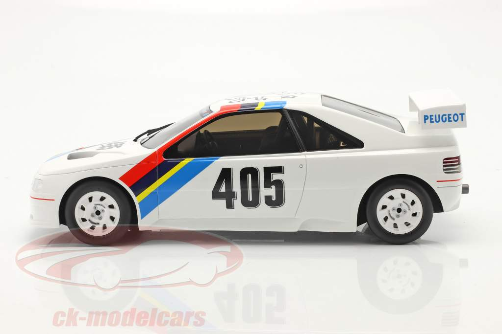 Peugeot 405 T16 Gr. S #405 Presentation Car 1988 weiß 1:18 OttOmobile