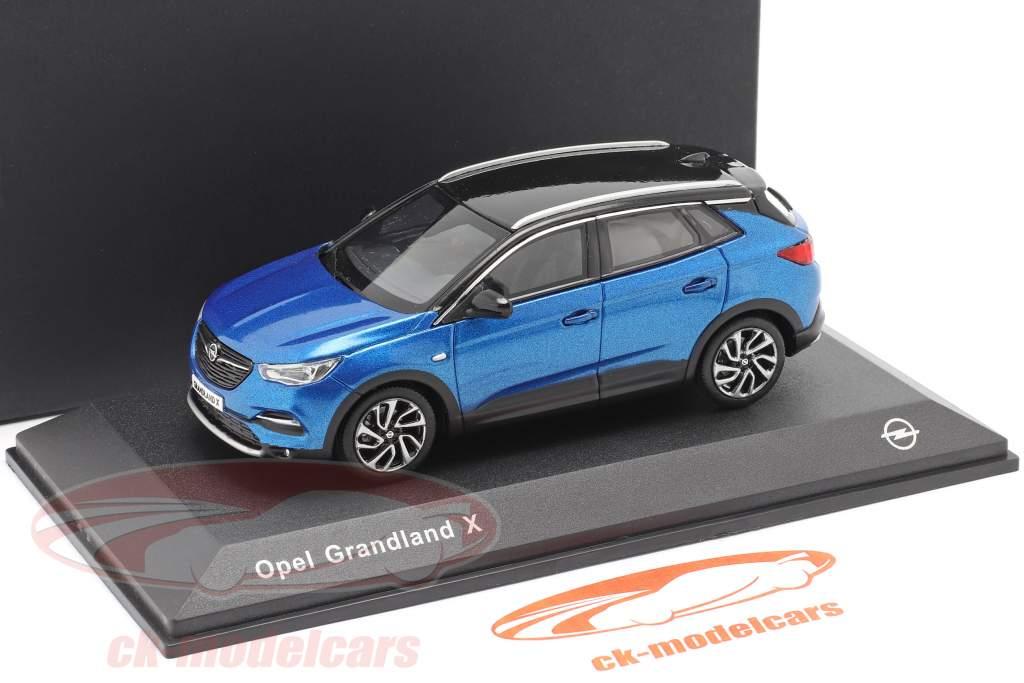 Opel Grandland X bleu 1:43 iScale