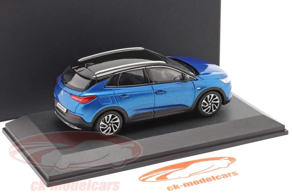 Opel Grandland X blå 1:43 iScale