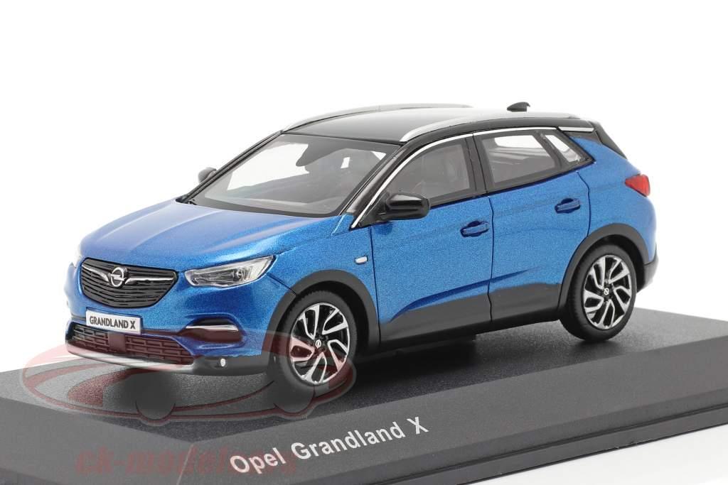 Opel Grandland X blue 1:43 iScale