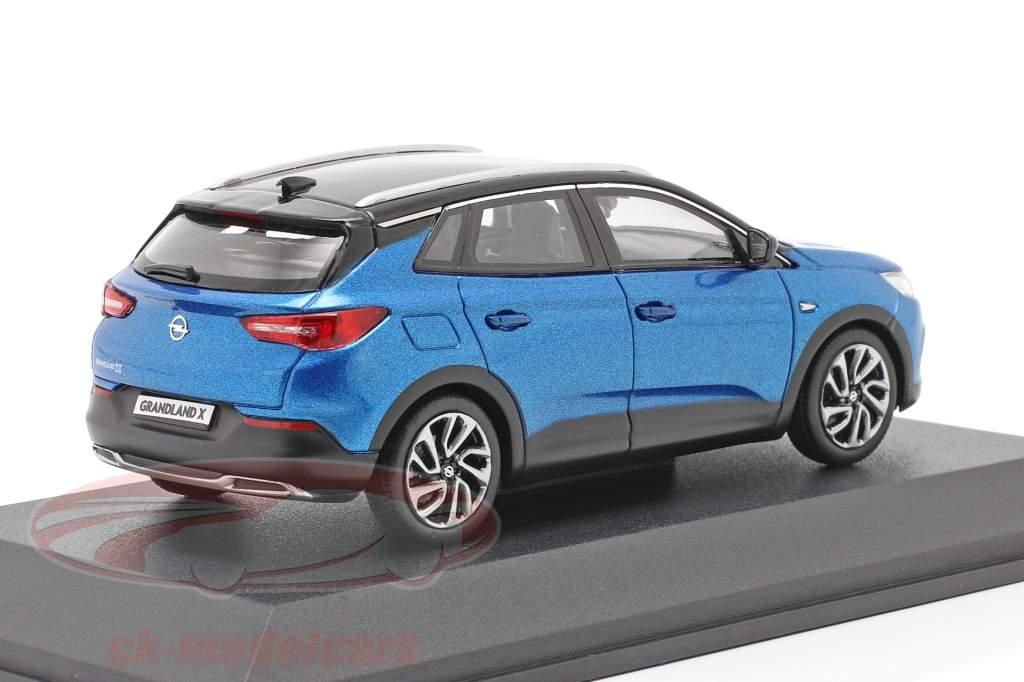 Opel Grandland X blauw 1:43 iScale