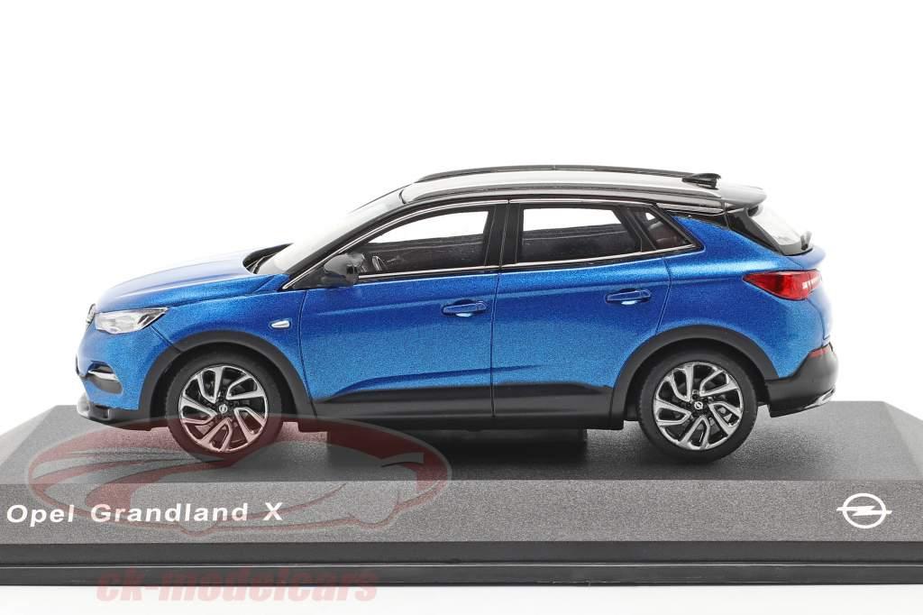 Opel Grandland X blu 1:43 iScale