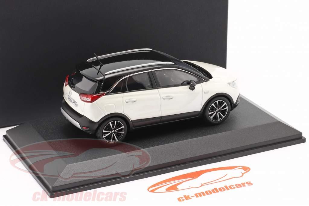 Opel Crossland X weiß metallic 1:43 iScale