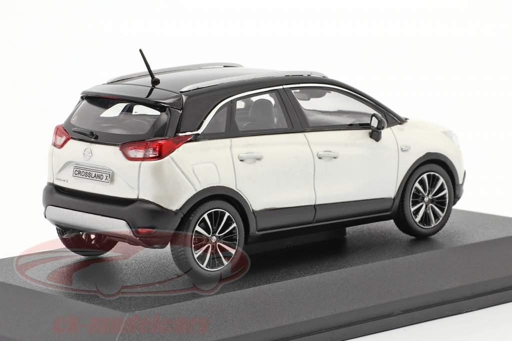Opel Crossland X bianca metallico 1:43 iScale