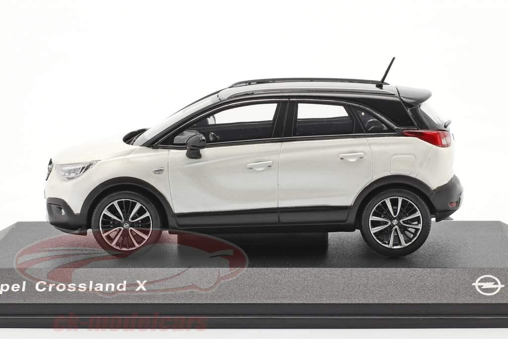 Opel Crossland X Branco metálico 1:43 iScale