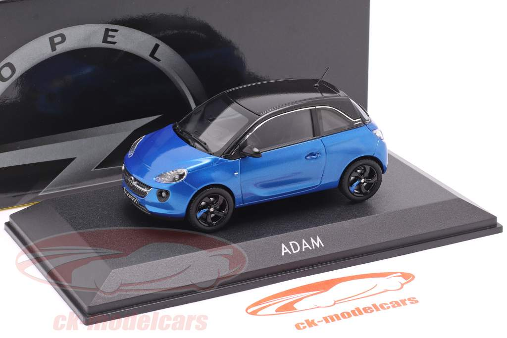Opel Adam blue 1:43 iScale