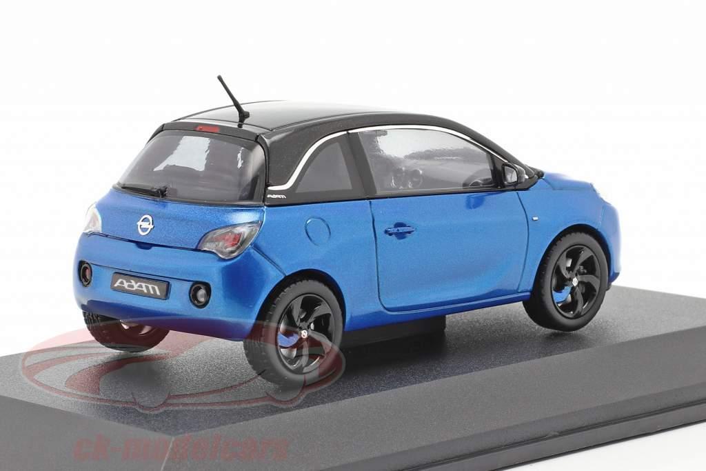Opel Adam blauw 1:43 iScale