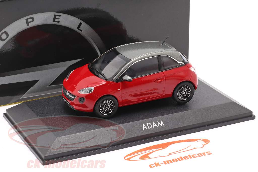 Opel Adam vermelho 1:43 iScale