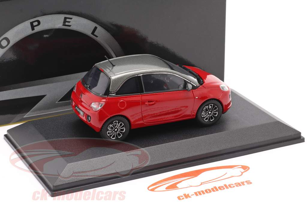Opel Adam rood 1:43 iScale