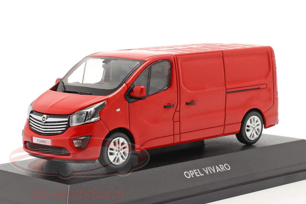 Opel Vivaro Van rojo 1:43 iScale