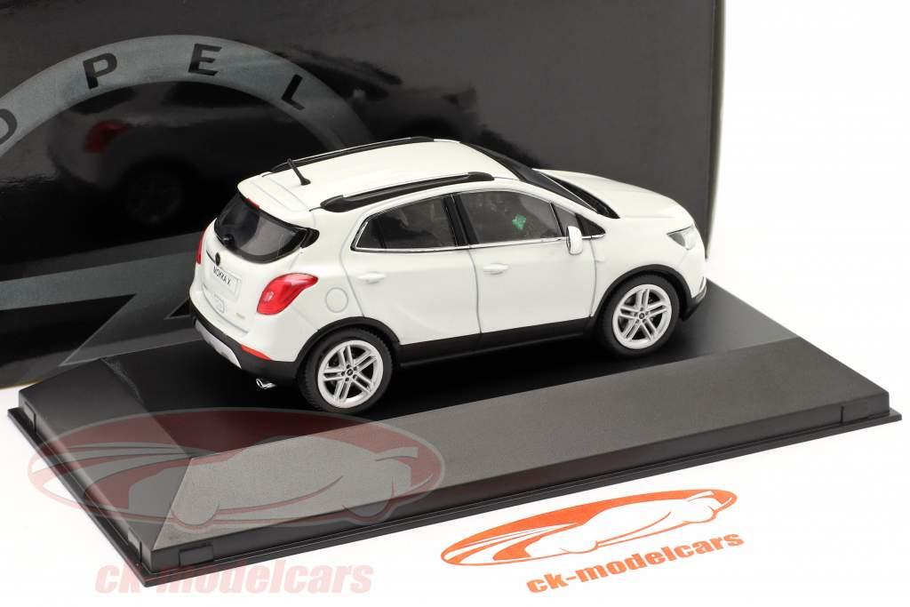 Opel Mokka X hvid 1:43 iScale