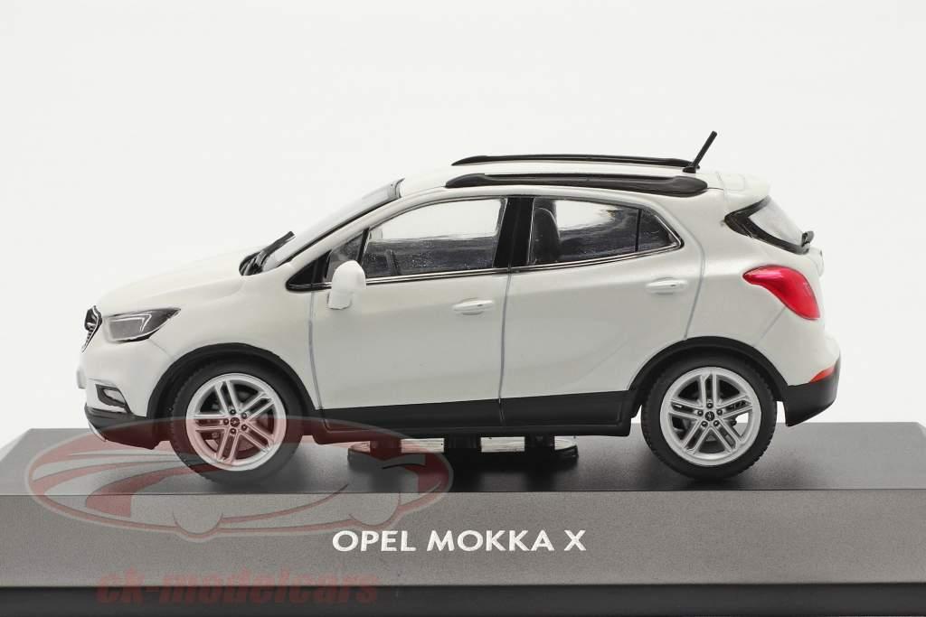 Opel Mokka X Wit 1:43 iScale