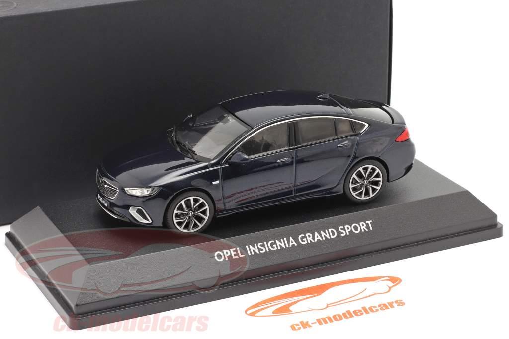 Opel Insignia Grand Sport mer profonde bleu 1:43 iScale
