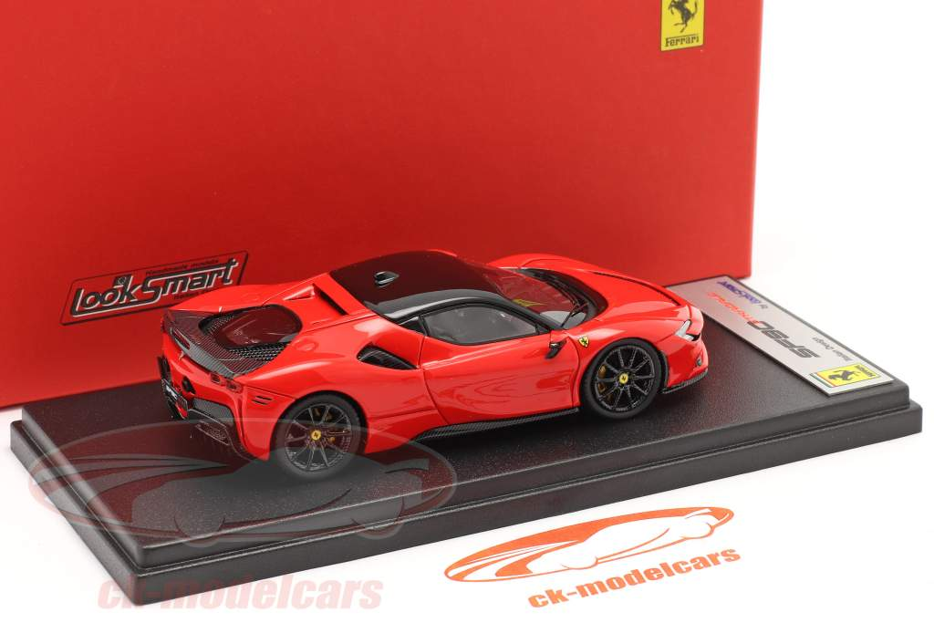 Ferrari SF90 Stradale Anno di costruzione 2019 scuderia rosso / nero 1:43 LookSmart