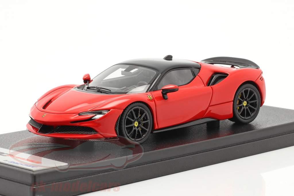 Ferrari SF90 Stradale Año de construcción 2019 scuderia rojo / negro 1:43 LookSmart
