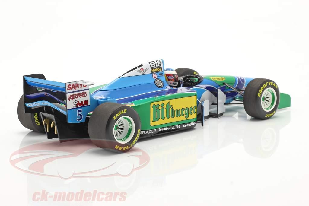 Michael Schumacher Benetton B194 #5 Formel 1 Weltmeister 1994 1:18 Minichamps