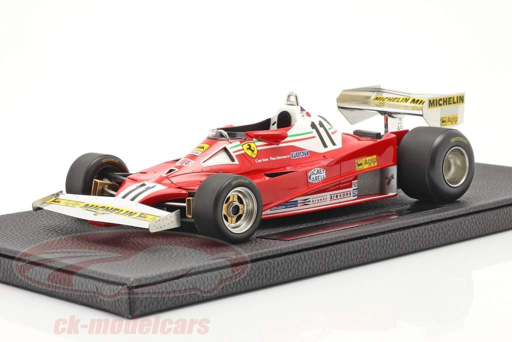 C. Reutemann Ferrari 312T2 #11 vincitore brasiliano GP formula 1 1978 1:18 GP Replicas